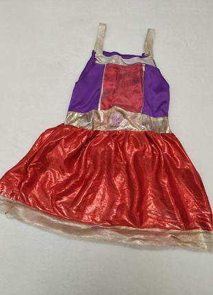 Новогодний карнавальный костюм платье супервумэн