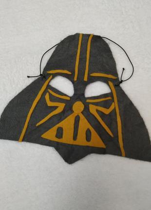 Новогодняя маска дарт вейдер