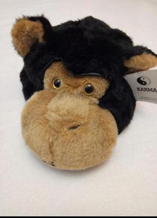Новогодний карнавальный костюм шапка обезьяны