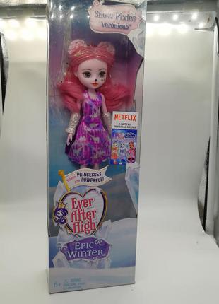 Кукла ever after high epic winter pixie bear