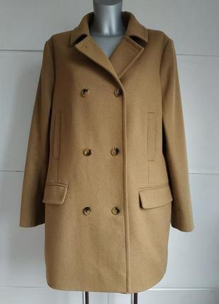 Стильное пальто hobbs бежевого цвета