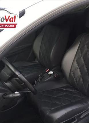 Чехли на сидения Авто ЕкоКожа Dacia Sandero Logan Duster Дачія...