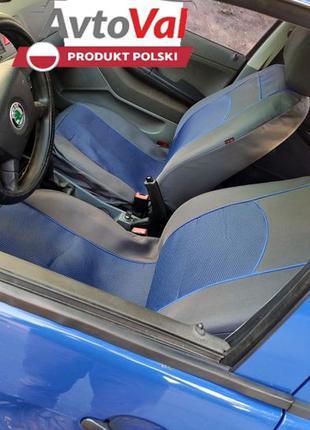 Авто чехли АВТОТКАНЬ ПОЛЬША Volkswagen Vento New Beetle Polo J...