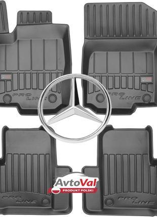 3D Коврики в авто Автомобильные Mercedes W203 W211 W213 ML W16...