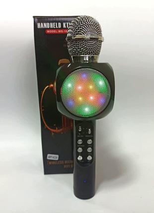 Бездротовий портативний Bluetooth мікрофон колонка для караоке