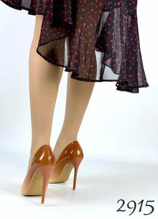 """Нереально красивые туфельки на удобном каблучке """" марта """""""