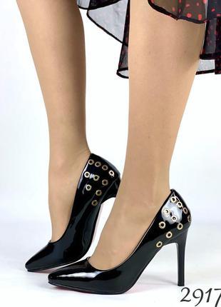 """Нереально красивые туфельки на удобном каблучке """" монро """""""