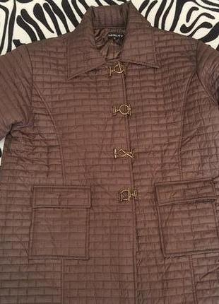 Новое супермодное пальто neslay германия большого размера 64-66