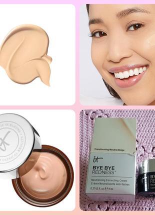 It cosmetics bye bye redness neutralizing neutral beige крем к...