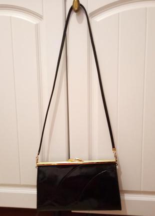 Eros: винтажная кожаная сумка