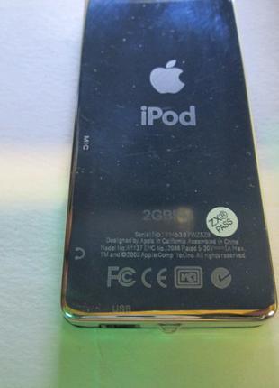 MP3 плеер, FM, диктофон Ipod (копия) 2GBFM A1137 EMC