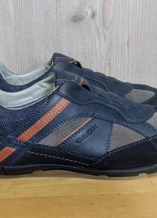 Кроссовки туфли кожаные geox