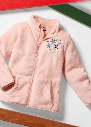 Флиска teddy для девочки бренд lupilu германия