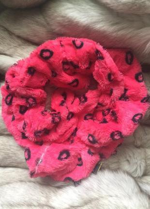Яркий и мягенький хомут шарф сша