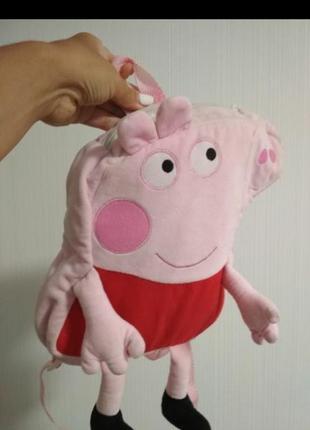 Свинка пеппа peppa pig детский рюкзачек сумка