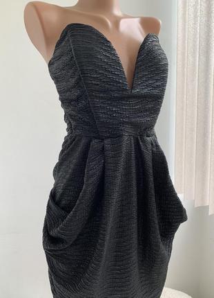 Нереальное вечернее платье корсет бюстье с открытой спиной сша...