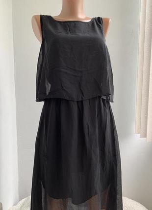Асимметрическое шифоновое платье robert louis сша