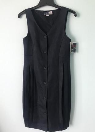 Школьный сарафан плиссе платье в школу оригинального пошива сш...