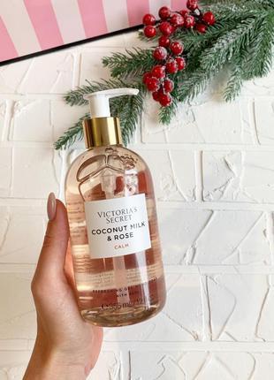 Гелевое мыло для рук victoria's secret coconut milk & rose ори...