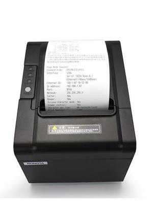 Принтер чеков термопринтер 80 мм новый с авто обрезкой  новый