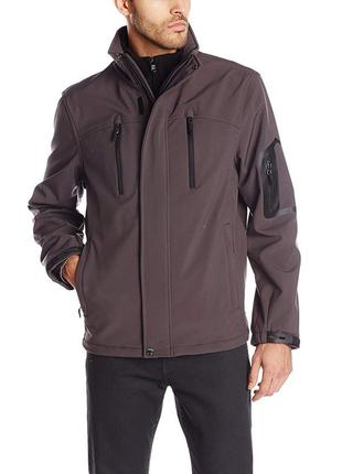 Куртка calvin klein fleece bib jacket
