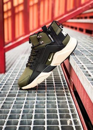 Nike huarache haki, мужские кроссовки