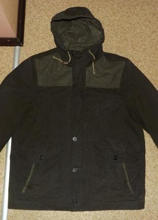 Куртка из вощеного хлопка river island