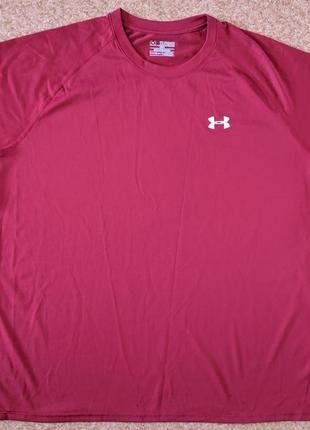 Футболка under armour heatgear loose fit t-shirt
