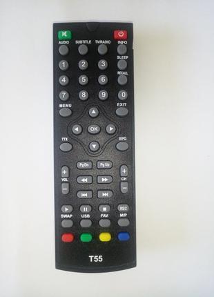 Пульт для эфирного тюнера World Vision T55 (DVB-T2)