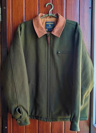 Шерстяная куртка-бомбер woolrich
