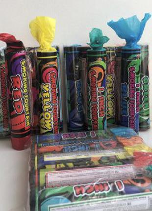 Набор Цветного Дыма для фотосессии (разноцветный дым)
