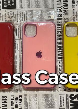Silicone Glass Case iPhone 11 силиконовый чехол Apple