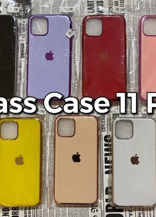 Silicone Glass Case iPhone 11 Pro силиконовый чехол Apple