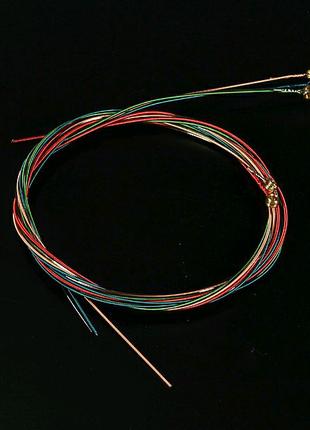 Цветные струны для акустической гитары. Для новичков
