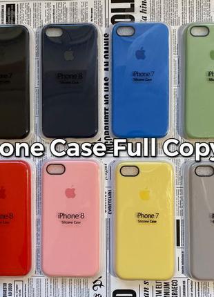 Silicone Case Full Copy iPhone 7/8 силиконовый чехол Apple