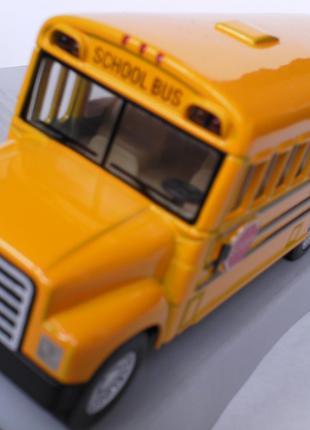 Автобус школьный,металлический.
