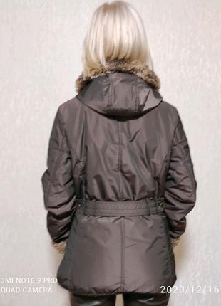 Куртка зимняя, искусственный мех. Киев