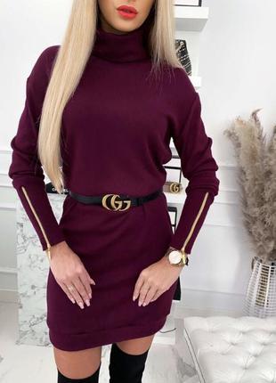 Платье туника ангора