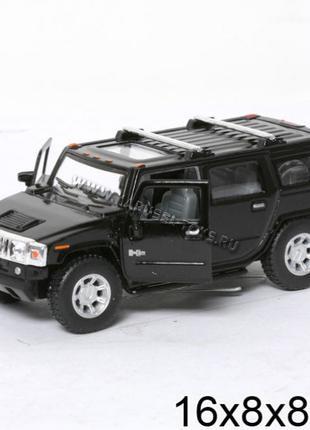 Hummer H2 SUV хаммер джип внедорожник машинка металл.