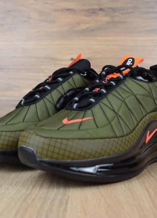 Мужские демисезонные кроссовки nike air mx 720-98 зеленые