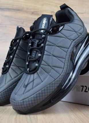 Мужские демисезонные кроссовки nike air mx 720-98 серые