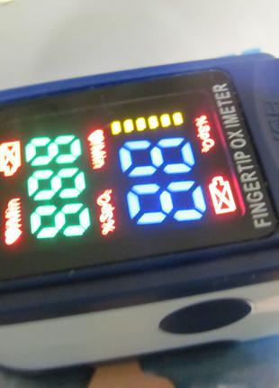 Пульсоксиметр Контрольно-измерительный прибор на палец , Пульс.__