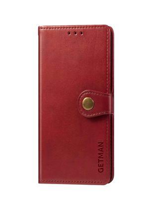 Кожаный чехол книжка для Xiaomi Redmi Note 8T