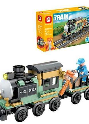 Конструктор паровоз железная дорога
