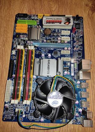 Материнская плата с процессором и памятью 6 GB