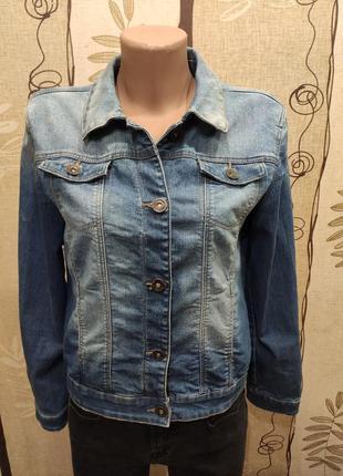 Here&there стрейчевая джинсовая куртка, пиджак, джинсовка