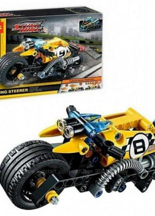 Конструктор decool 3419 (аналог lego technic 42058) мотоцикл д...