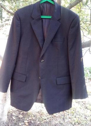 Шикарный брендовый дизайнерский пиджак