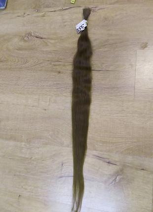 Русый волнистый волос 75 см
