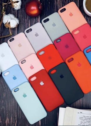 Силиконовый чехол на iPhone 6 s + 7 8 Plus X XR Xs Max 11 Pro ...